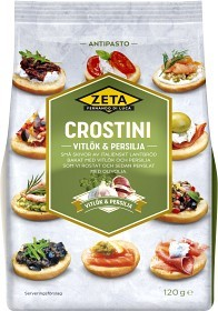 Bild på Zeta Crostini Vitlök och Persilja 120 g