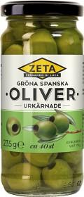 Bild på Zeta Gröna Oliver Urkärnade 235 g