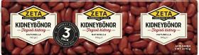 Bild på Zeta Kidneybönor 3x190 g