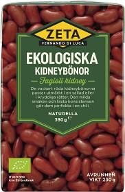 Bild på Zeta Kidneybönor 380 g
