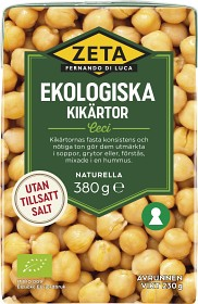 Bild på Zeta Kikärtor 380 g