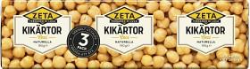 Bild på Zeta Kikärtor 3x190 g