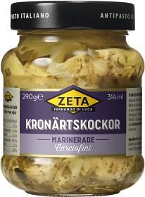 Bild på Zeta Kronärtskockor Marinerade 290 g