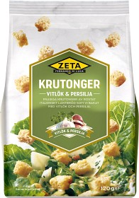 Bild på Zeta Krutonger Vitlök & Persilja 120 g