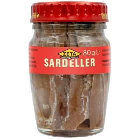 Bild på Zeta Sardeller 80 g