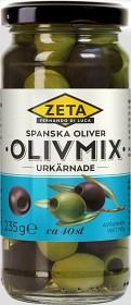 Bild på Zeta Spansk Olivmix Urkärnade 235 g