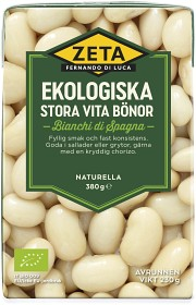 Bild på Zeta Stora Vita Bönor 380 g