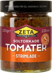 Bild på Zeta Strimlade Soltorkade Tomater 200 g