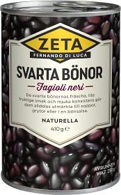 Bild på Zeta Svarta Bönor 410 g