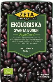 Bild på Zeta Svarta Bönor 380 g
