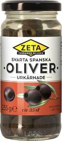 Bild på Zeta Svarta Oliver Utan Kärnor 235 g