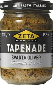 Bild på Zeta Tapenade Svarta Oliver 140 g