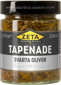 Bild på Zeta Tapenade Svarta Oliver 200 g