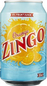 Bild på Zingo Orange Burk 33 cl inkl. pant