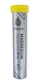 Bild på Zoeco Magnesium 125 mg 20 brustabletter
