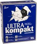Pussi Ultra Kompakt Kattsand 10 L