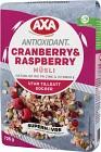 Axa Cranberry & Raspberry Müsli 725 g