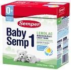 BabySemp 1 Lemolac 500 g (3,8 liter)
