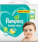 Pampers Baby-Dry S5 11-16kg 74 st