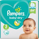 Pampers Baby-Dry S3 6-10 kg 30 st