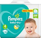 Pampers Baby-Dry S4 9-14kg 86 st