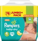 Pampers Baby-Dry S4 8-16 kg 78 st