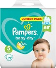 Pampers Baby-Dry S5 11-16kg 72 st
