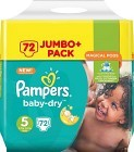 Pampers Baby-Dry S5 11-23 kg 72 st