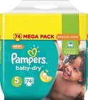 Pampers Baby-Dry Junior S5 11-23 kg 74 st