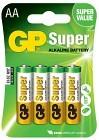 Batteri Super AA LR6 1,5V 4 st