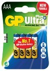 Batteri Ultra Plus AAA LR03 4 st