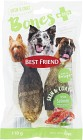 Best Friend Bones Tuggben Skin & Coat 2 P