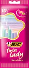 Bic Twin Lady Sensitive 10 st