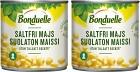 Bonduelle Majs utan Salt 2x150 g