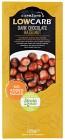 CarbZone Low Carb Mörk Choklad Hasselnöt 125 g