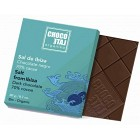 ChocoLate Orgániko Dark Chocolate 70% with Fleur de Sel 20 g
