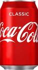 Coca-Cola Classic Burk 33 cl inkl. pant