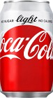 Coca-Cola Light Burk 33 cl inkl. pant