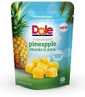 Dole Fruktpåse Ananasbitar 400 g