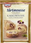 Dr. Oetker Tårtmousse Vaniljsmak 90 g