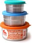 ECOlunchbox Seal Cup Trio 3-pack läckagesäkra burkar