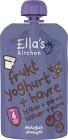 Ella's Fruktyoghurt Havre Blåbär & Päron 100 g