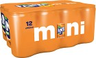 Fanta Orange Mini Burk 12x15 cl inkl. pant