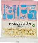 Favorit Mandelspån 100 g
