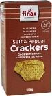 Finax Salt & Pepper Crackers 100 g