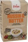 Finax Müsli Sunt & Gott Russin & Nötter 750 g