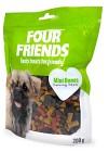 Four Friends Godis FFD Mini Bones 200g