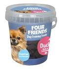 Four Friends Naturgodis FFD Training Treats Duck 400g