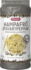 Friggs Riskakor Hampafrö & Svartpeppar 130 g