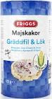 Friggs Majskakor Gräddfil & Lök 125 g